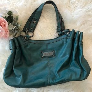 Handbags - Boho Turquoise Hobo Tote 👜 Purse